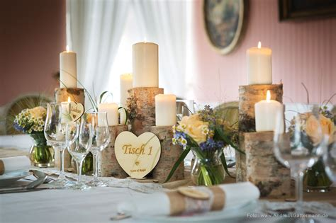 Tischdekoration Hochzeit Holz by Vintage Tischdeko Hochzeit Individuell Namenschilder