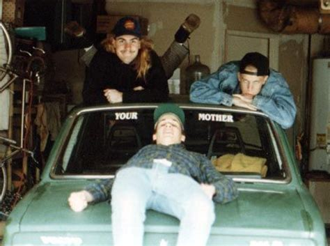 grunge legend kurt cobain drove  volvo      careful