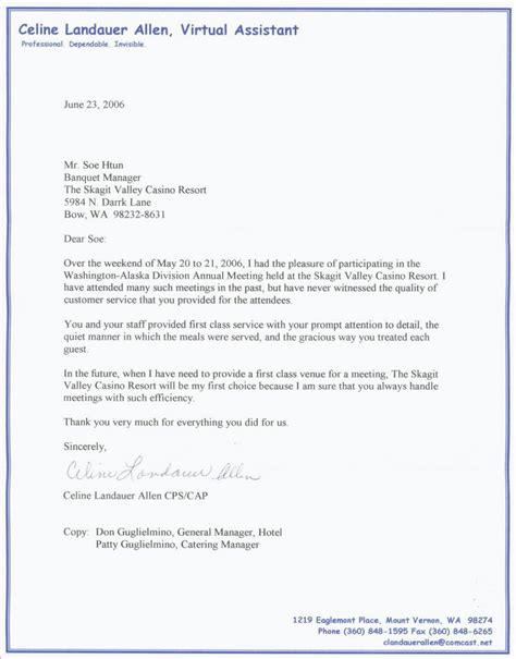 Recommendation Letter For A Waitress Letter Of Recommendation
