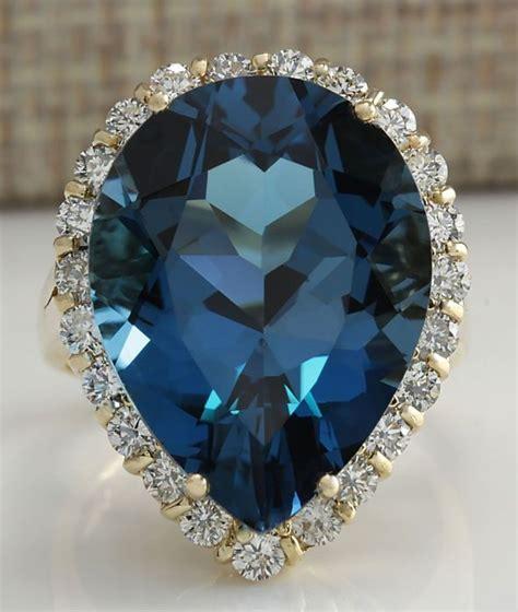 Blue Topaz 1 48 Carat certified 18 48 carat blue topaz and