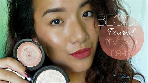 Becca Shimmering Skin Perfector Poured Creme Highlighter In Moonstone 1 becca shimmering skin perfector poured impression