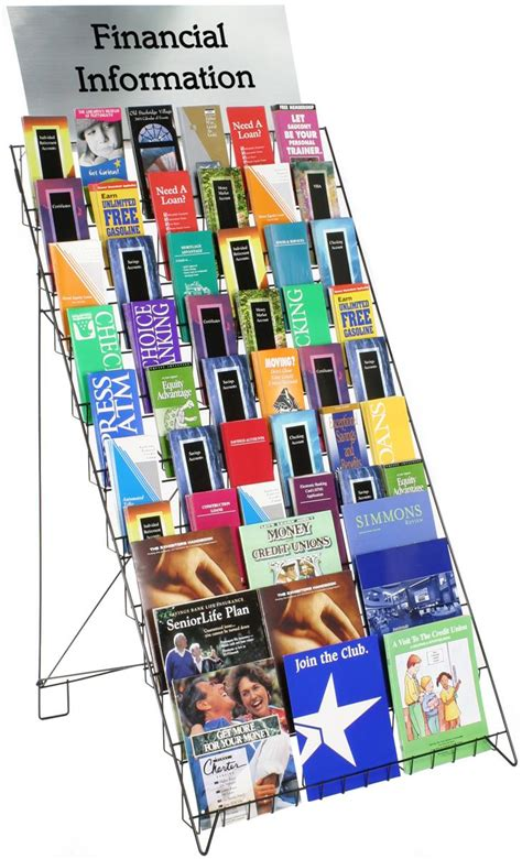 ten stand books these wire displays are great ways to present many