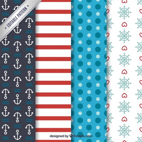 nautical pattern vector free variety of nautical patterns vector free download