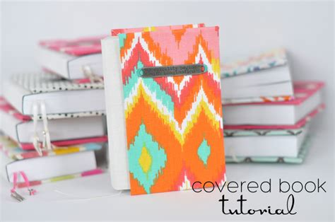 Handmade Book Tutorial - easy covered books tutorial skip to my lou