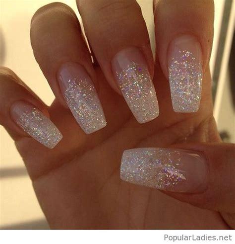 Glitter Nagels by White Glitter Nails