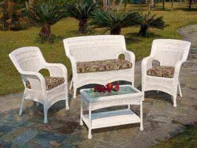 Outdoor Wicker Furniture Plastic Wicker Outdoor Furniture Decor Ideasdecor Ideas