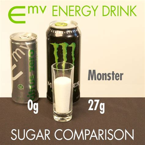 energy drink no sugar emv energy drink sugar comparison chart energy blends