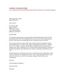 Resume Cover Letter Doc by Sle Cover Letter For Resume Doc Resume Sles