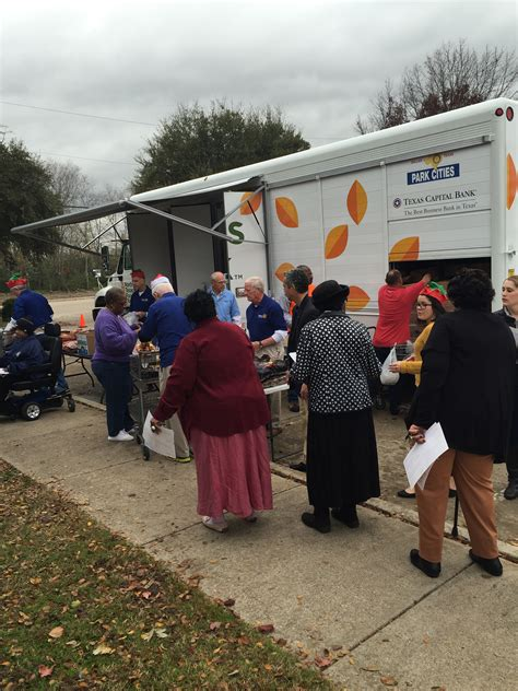 ntfb fighting hunger with mobile food pantry dallas city