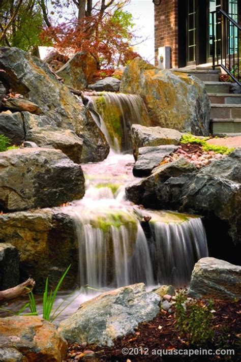 backyard waterfall and stream 17 best images about backyard waterfalls and streams on