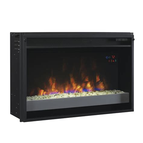 Contemporary Electric Fireplace Classicflame 26 In Spectrafire Plus Contemporary Electric Fireplace Insert 26ef031gpg 201