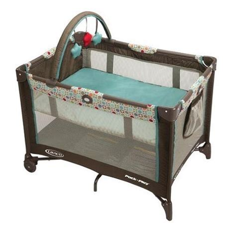 baby crib playard size bassinet folding portable