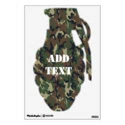 camouflage wall stickers military forest camouflage military shape wall decal