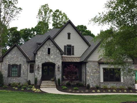 gray house arh plan asheville 1131f exterior 42 stone dove gray gray mortar brick painted