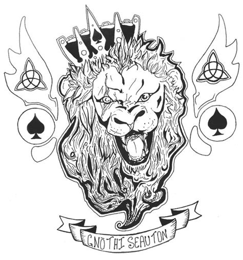 lionheart tattoo designs 34 best lionheart designs images on