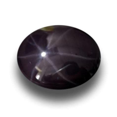 Purple Sapphire Starsrilanka Ring Silver 5 45 carats unheated purple spinel new