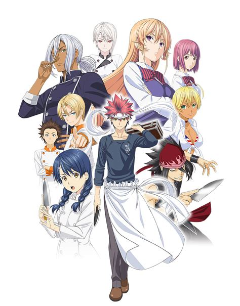 I Anime Food Wars by Food Wars Second Service Anime S 233 Rie News