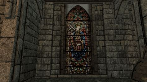 stained glass ls stained glass in dragon reach at skyrim nexus mods and