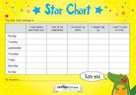 kids star chart cartridge save blog