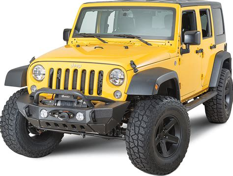 acid yellow jeep smittybilt 76807 xrc gen2 front bumper for 07 18 jeep