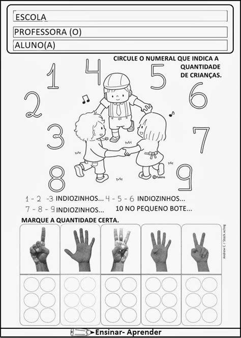 Calendario Prova Area Ii Atividades De Matem 193 Tica Para O 1 186 Ano Alfabetiza 199 195 O