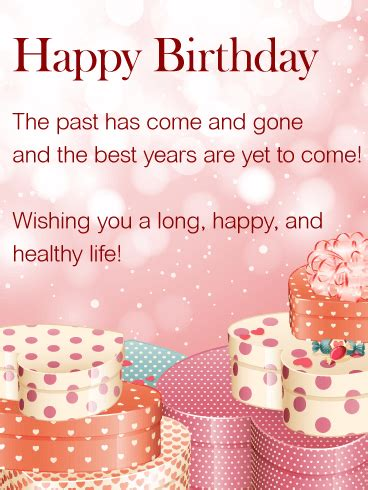 wishing you a happy happy birthday wishes card this sweet birthday greeting card is