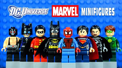 Mini Figure Superman Batman Robin lego dc vs marvel superheroes knockoff minifigures set 9 w