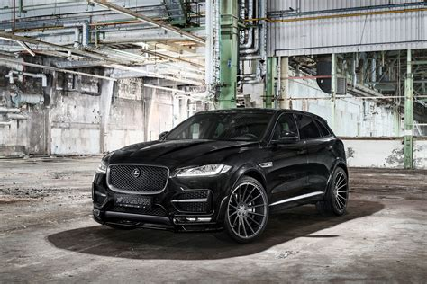 all black jaguar all black sinister jaguar f pace gets custom parts carid