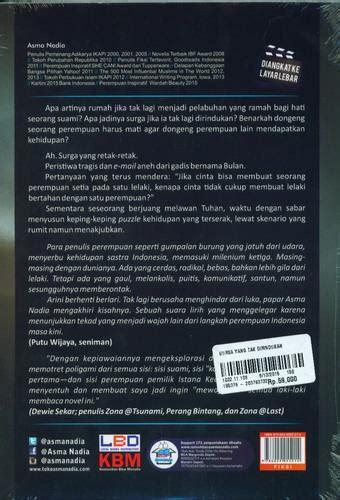 Buku Novel Surga Yang Tak Dirindukan Jilid 2 Karya Asma bukukita surga yang tak dirindukan cover
