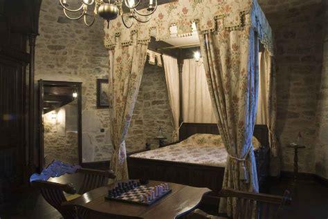 Castle Tower Bedroom montbrun castle guest room floor