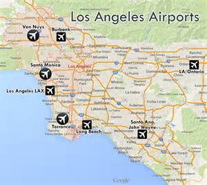 Map Of Los Angeles Airports by Airports Of Los Angeles A Spotting Guide