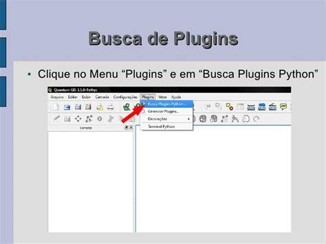 tutorial qgis em portugues tutorial 2a instala 231 227 o de plugins do qgis v3