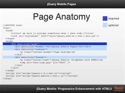 jquery mobile gallery jquery mobile progressive enhancement with html5