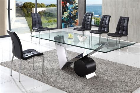 large glass dining room table gorgeous large glass dining table dining room the valencia