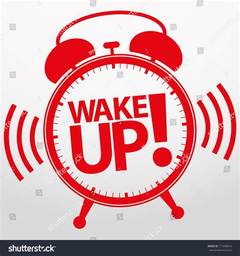 Health And Up Alarm alarm clock icon vector illustration stock vector
