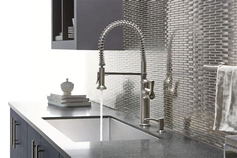 installing a new kitchen faucet when it s time for a new kitchen faucet i turn to kohler