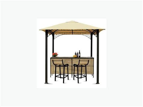 Gazebo With Bar Table Gazebo Bar 2 Stools Aluminum Any Offers East