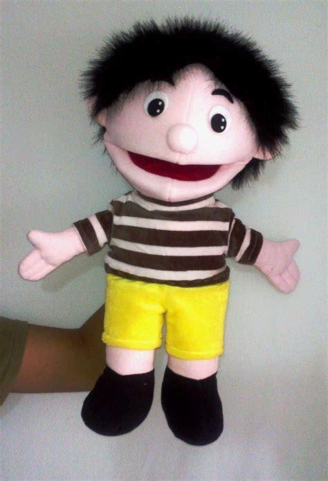 Setelan Boys Tshirt boneka tangan fullbody tsabita boneka puppet