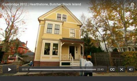 this old house episodes waterfall wood countertops by grothouse on this old house