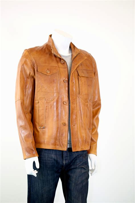 light brown leather jacket mens light brown leather jackets for men www pixshark com