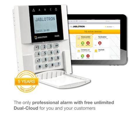 jablotron 80 cloud home security system enterprise