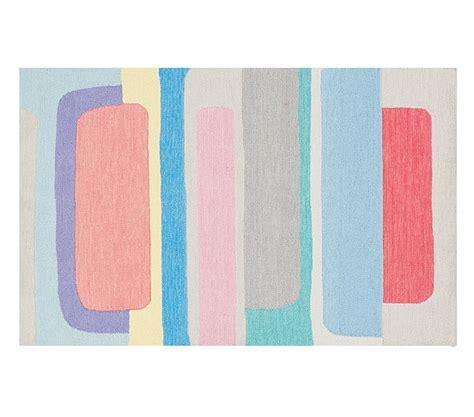 color block rugs margherita missoni color block rug pottery barn