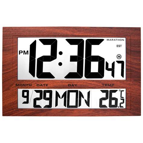 digital wall clock digital wall clock edwards digital wall clock for