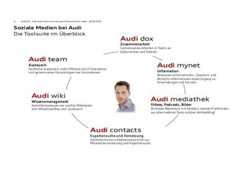 My Net Audi by Audi Social Intranet Goes Mobile Multimedia
