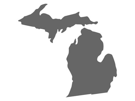 michigan vinyl decal michigan decal michigan wall decal craftcuts