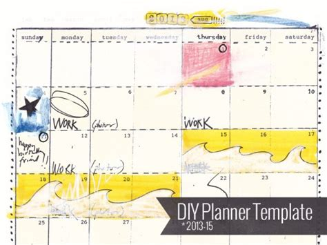 diy planner templates 7 best images of diy planner template printable d i y