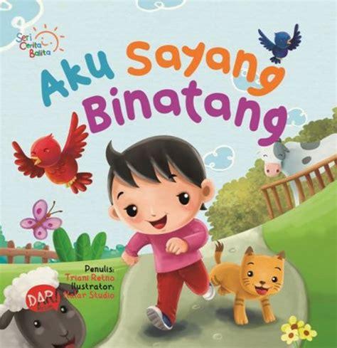 Seri Aku Mau Pintar board book seri balita aku sayang binatang cbm