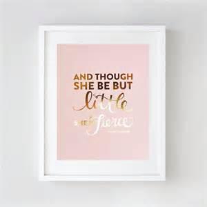Baby Pink Bedroom Accessories - gold foil nursery wall art