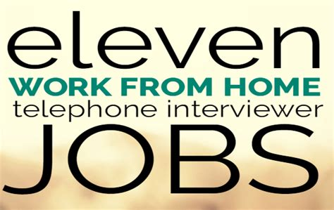 work from home telephone interviewer and sitel work at