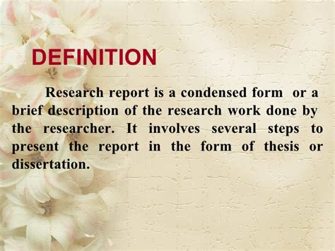 Methods Of Business Research Report Writing Ppt by Research Report Writing
